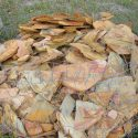 Choice of Rocks in Basket of Accent Flat Rocks Priced $5.00 per Rock