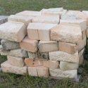 Wall Blocks pinkish  $2.00 each